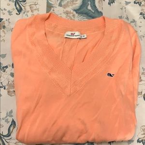 BRAND NEW coral vineyard vines sweater